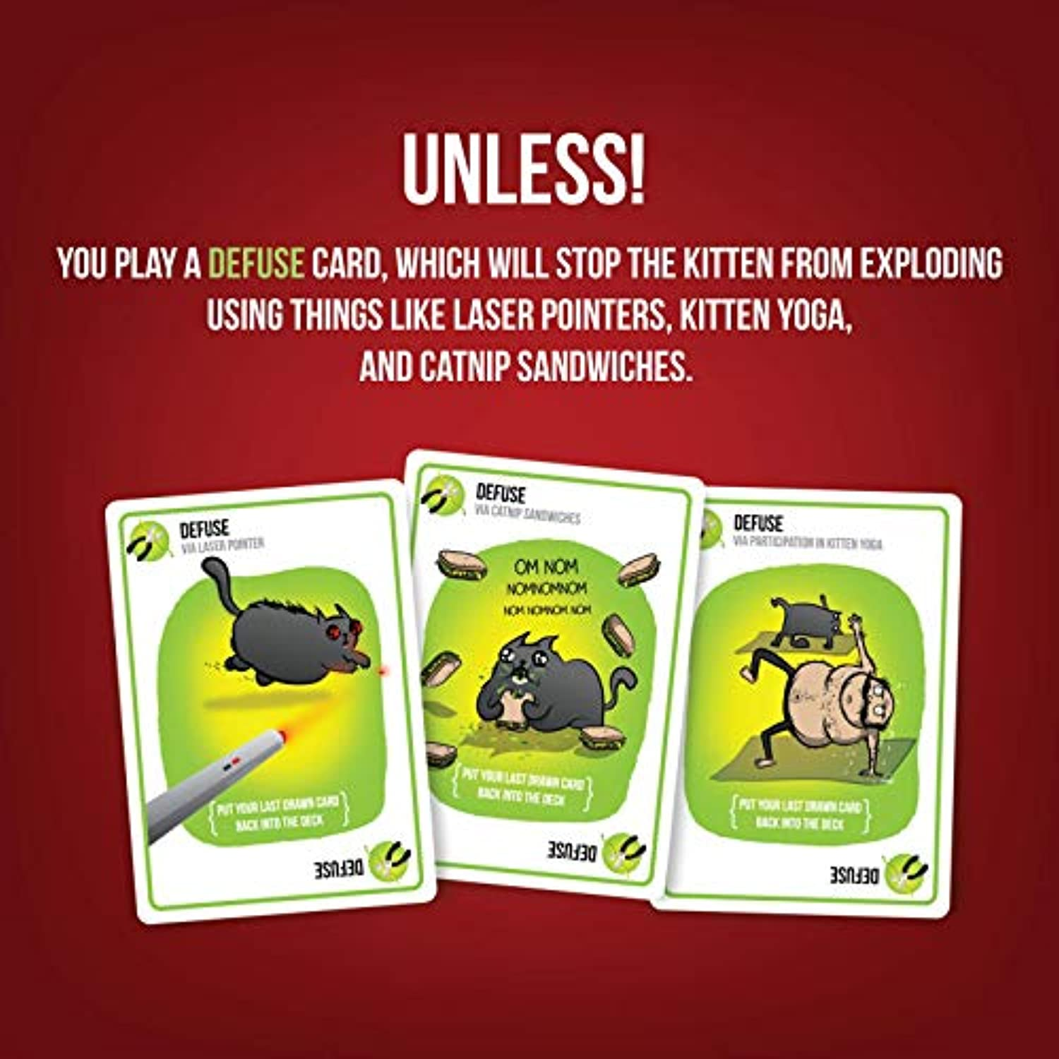 Classier: Buy Exploding Kittens LLC Exploding Kittens Card Game - Family-Friendly Party Games - Card Games For Adults, Teens & Kids