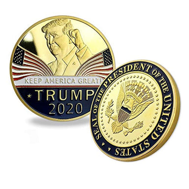 Classier: Buy Donald J. Trump Trump Coin 2020 Keep America Great - United States Presidential Challenge Coin Collectible