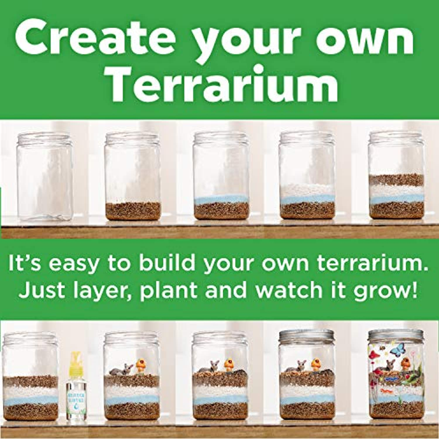 Classier: Buy Creativity for Kids Creativity for Kids Grow 'n Glow Terrarium