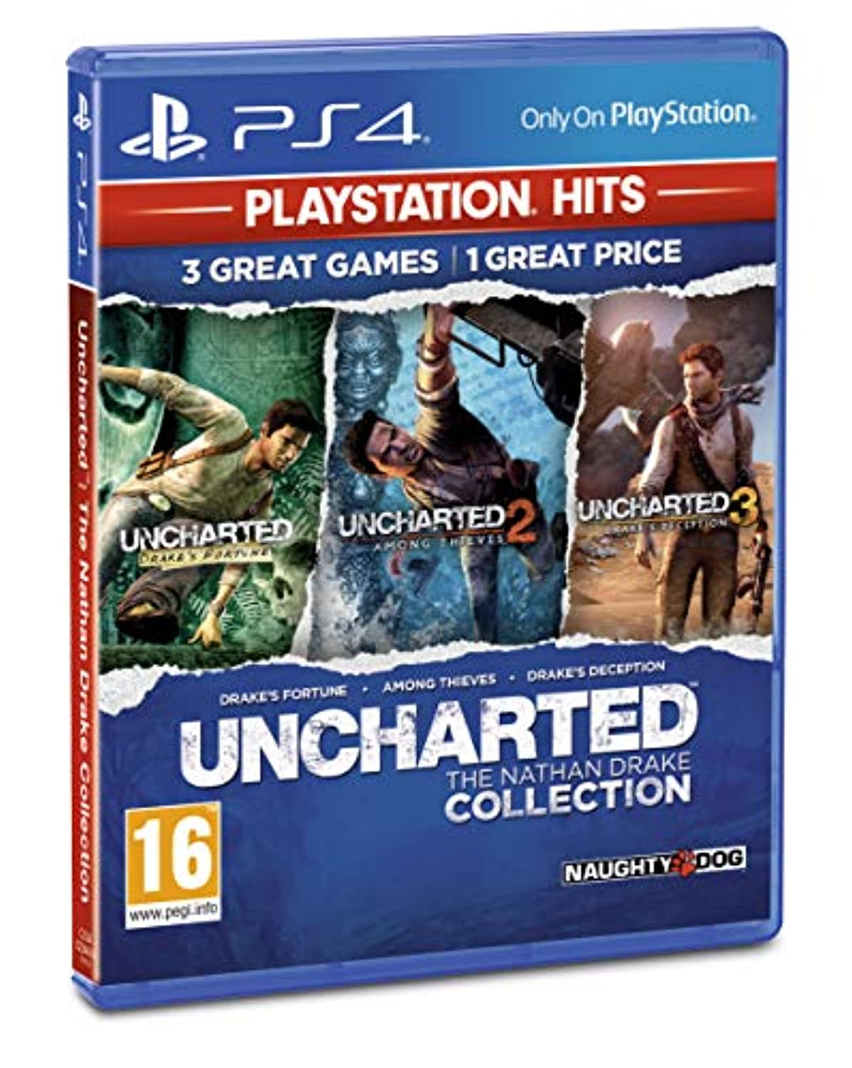 Classier: Buy Sony Uncharted Collection PlayStation Hits (PS4)
