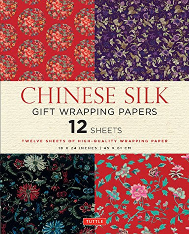 Classier: Buy Tuttle Publishing Chinese Silk Gift Wrapping Papers: 12 Sheets of 18 x 24 inch Wrapping Paper