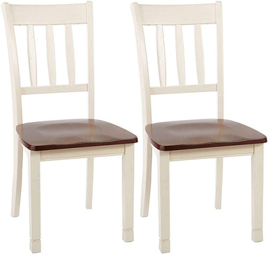 Classier: Buy Signature Design by Ashley Signature Design by Ashley Whitesburg Dining Room Chair, Brown/Cottage White