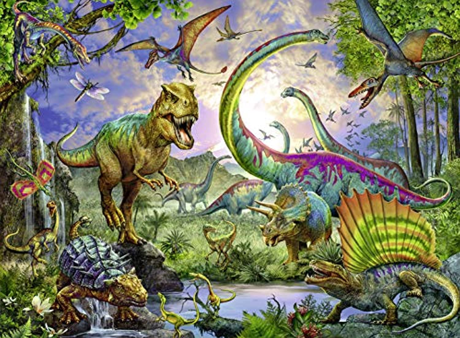 Classier: Buy Ravensburger Ravensburger Realm of The Giants 200 Piece Jigsaw Puzzle for Kids – Every Piece is Unique, Pieces Fit Together Perfectly