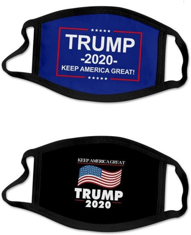 Classier: Buy Donald J. Trump Mural Wall Art Trump Face Mask 2-Pack Safety Reusable & Washable Anti Dust Mouth Fashion Balaclava Cover Breathable Bandanna MAGA KAG Trump 2020 Men Women