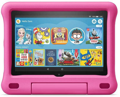 "Classier: Buy Basics All-new Fire HD 8 Kids Edition tablet, 8"" HD display, 32 GB, Blue Kid-Proof Case"