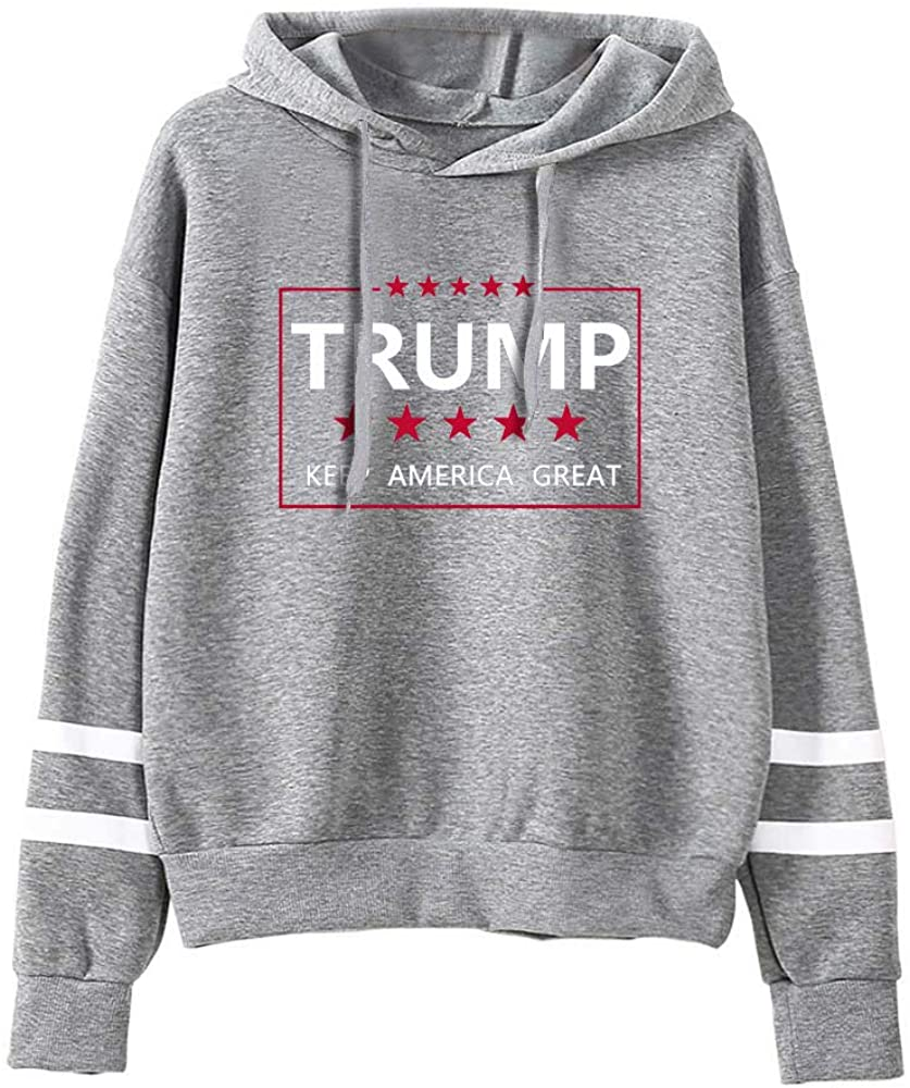 Classier: Buy Donald J. Trump Aganmi Trump Graphic Unisex Pullover Hoodie ,Keep America Great,45th President Donald Trump 2020 Long Sleeve Sweatshirt