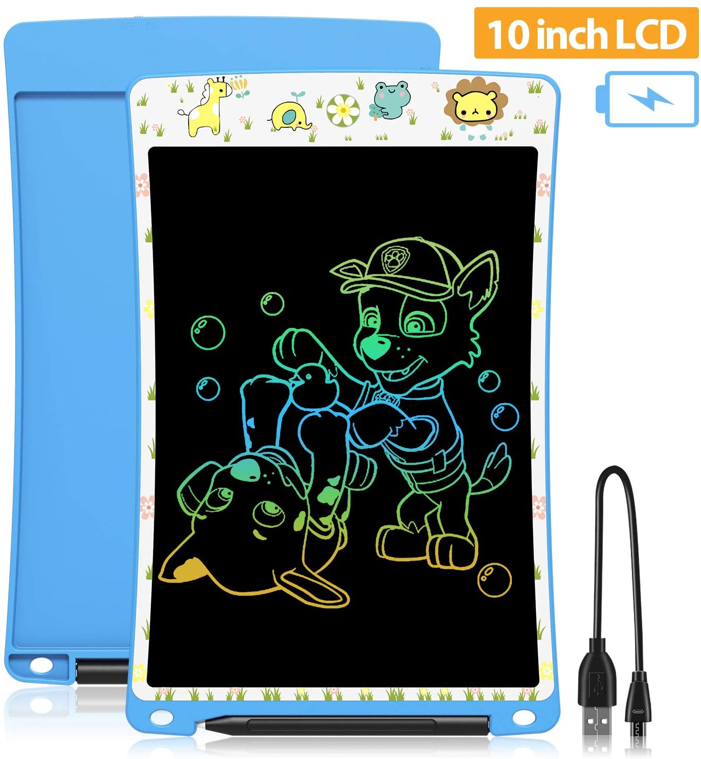 Classier: Buy WOBEECO WOBEECO Rechargeable Writing Pad Light Doodle Board, Scribble and Play Color Electronic Drawing Tablet for Kids Ages 3+(Blue)