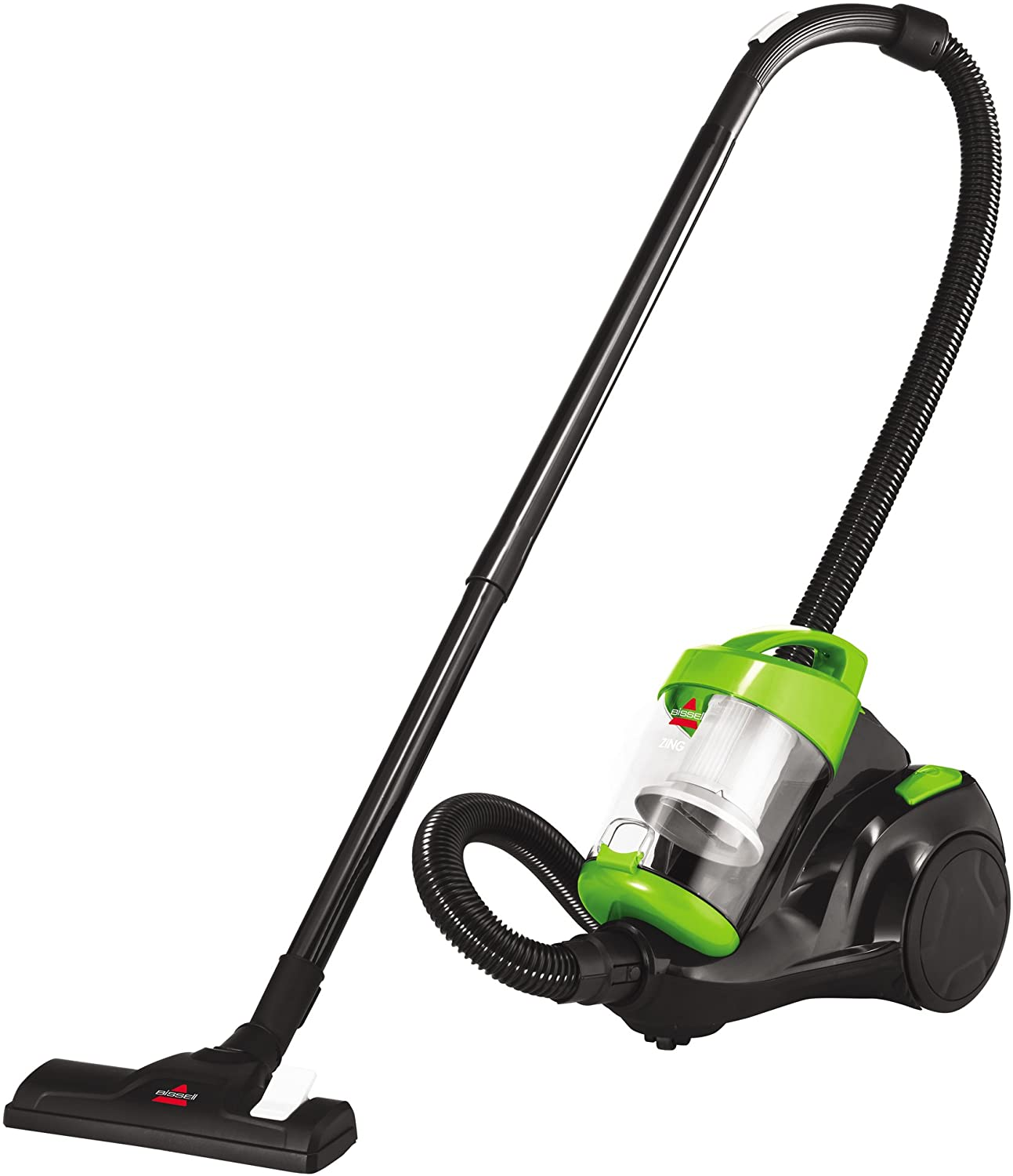 Classier: Buy Bissell Bissell Zing Canister, 2156A Vacuum, Green Bagless