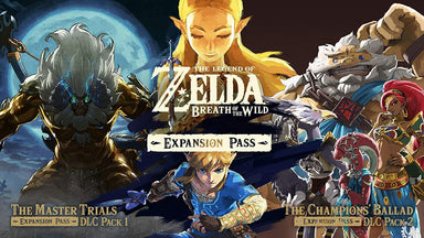 Classier: Buy Nintendo The Legend of Zelda: Breath of the Wild Expansion Pass - Nintendo Switch [Digital Code] (DLC Pack 2 now available)