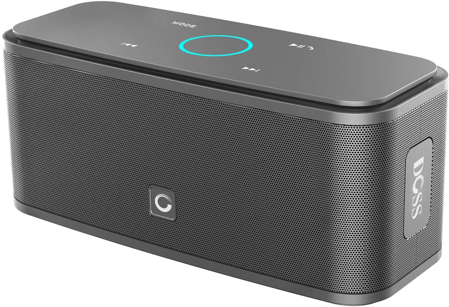 Classier: Buy DOSS DOSS SoundBox Touch Portable Wireless Bluetooth Speakers with 12W HD Sound and Bass, 20H Playtime, Handsfree, Speakers for Home, Outdoor, Travel-Black