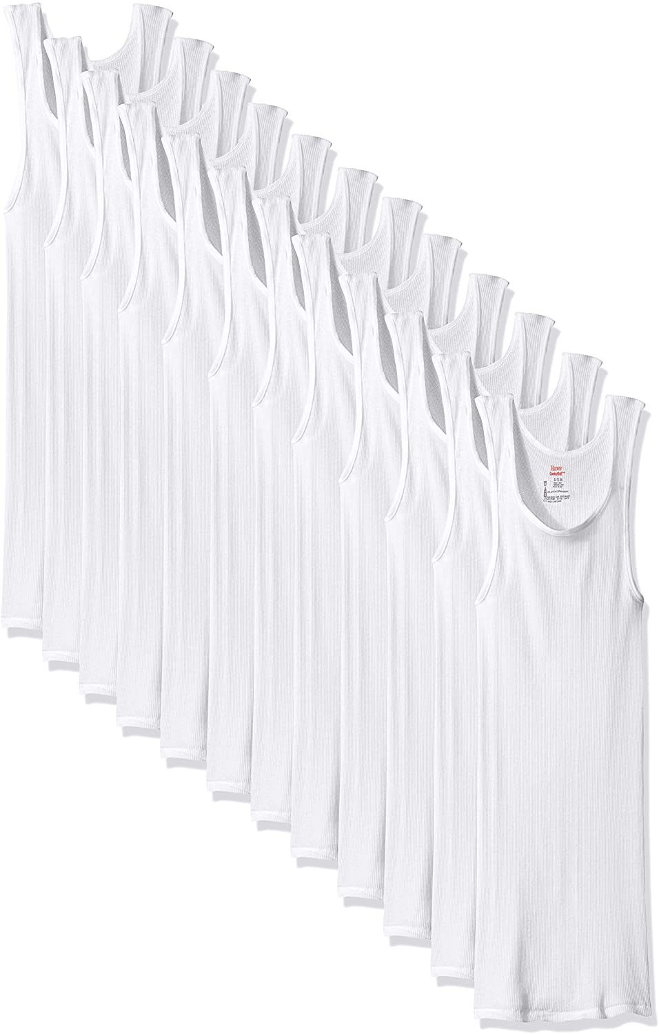 Classier: Buy Hanes Hanes Men's 6-Pack Comfort Soft Moisture Wicking Tagless Tanks