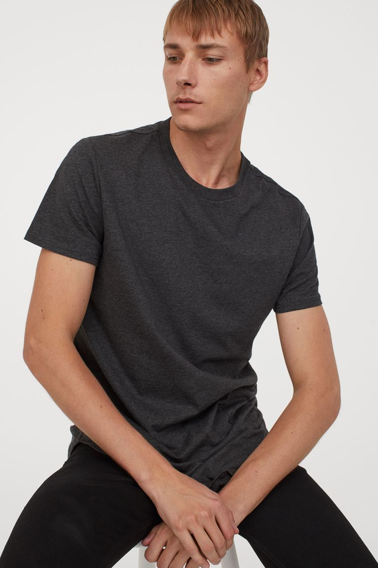 Classier: Buy H&M Long Fit T-shirt