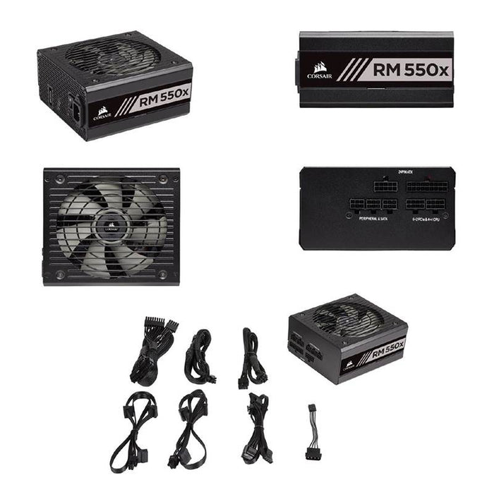 Corsair RM550x 550W 80+ V2 Gold Fully Modular Power Supply