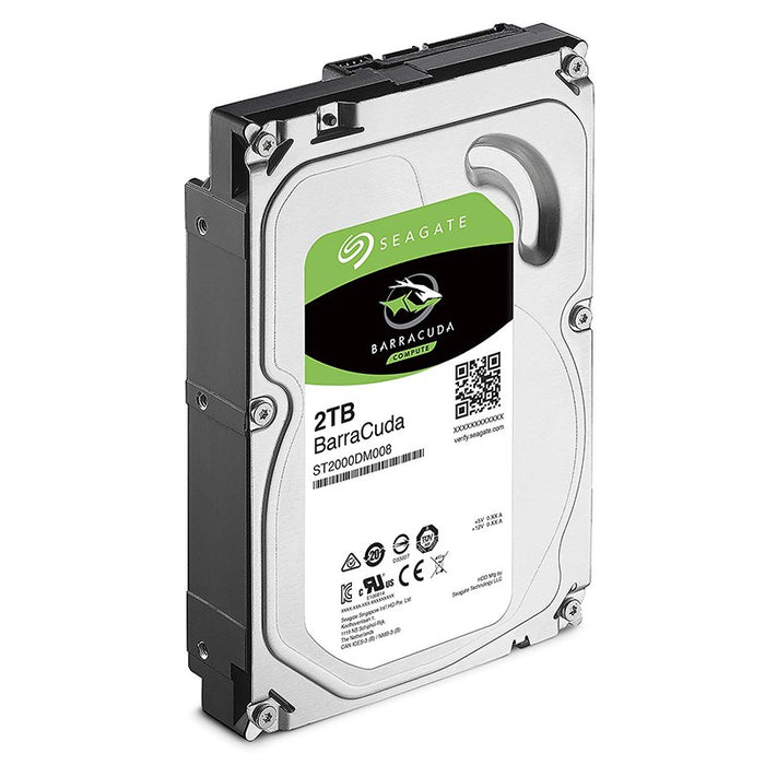 Seagate 2TB BarraCuda 3.5 7200RPM 256MB SATA3 Hard Drive