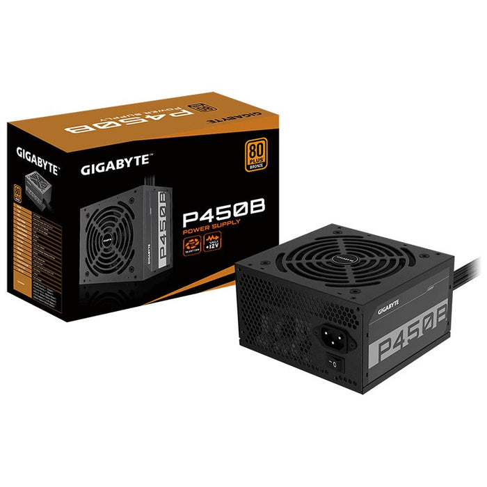 Gigabyte GP-P450B 450W 80+ Bronze Non-Modular Power Supply