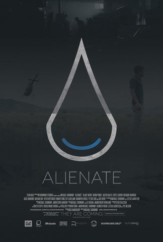 ALIENATE Movie Poster - 27x40