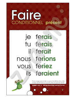 Faire - Conditionnel Présent - PDF