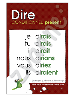 Dire - Conditionnel Présent - PDF