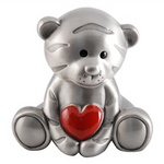 Money Box Tiger with Red Heart
