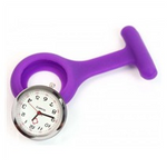 Watch Nurse Fob Purple Silicone