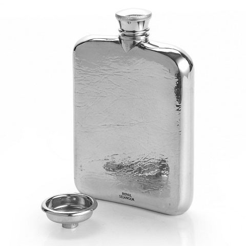 Hip Flask Pewter 13cl