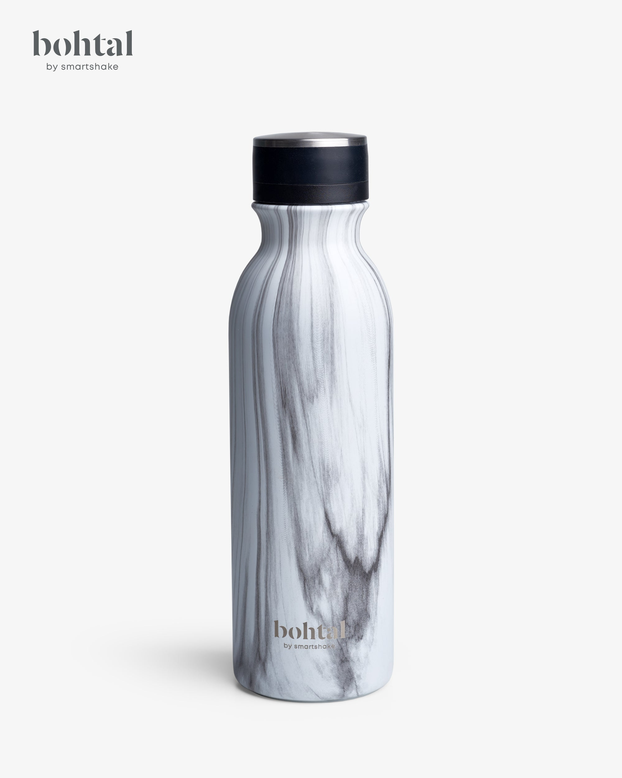Bohtal Insulated Flask White Marble