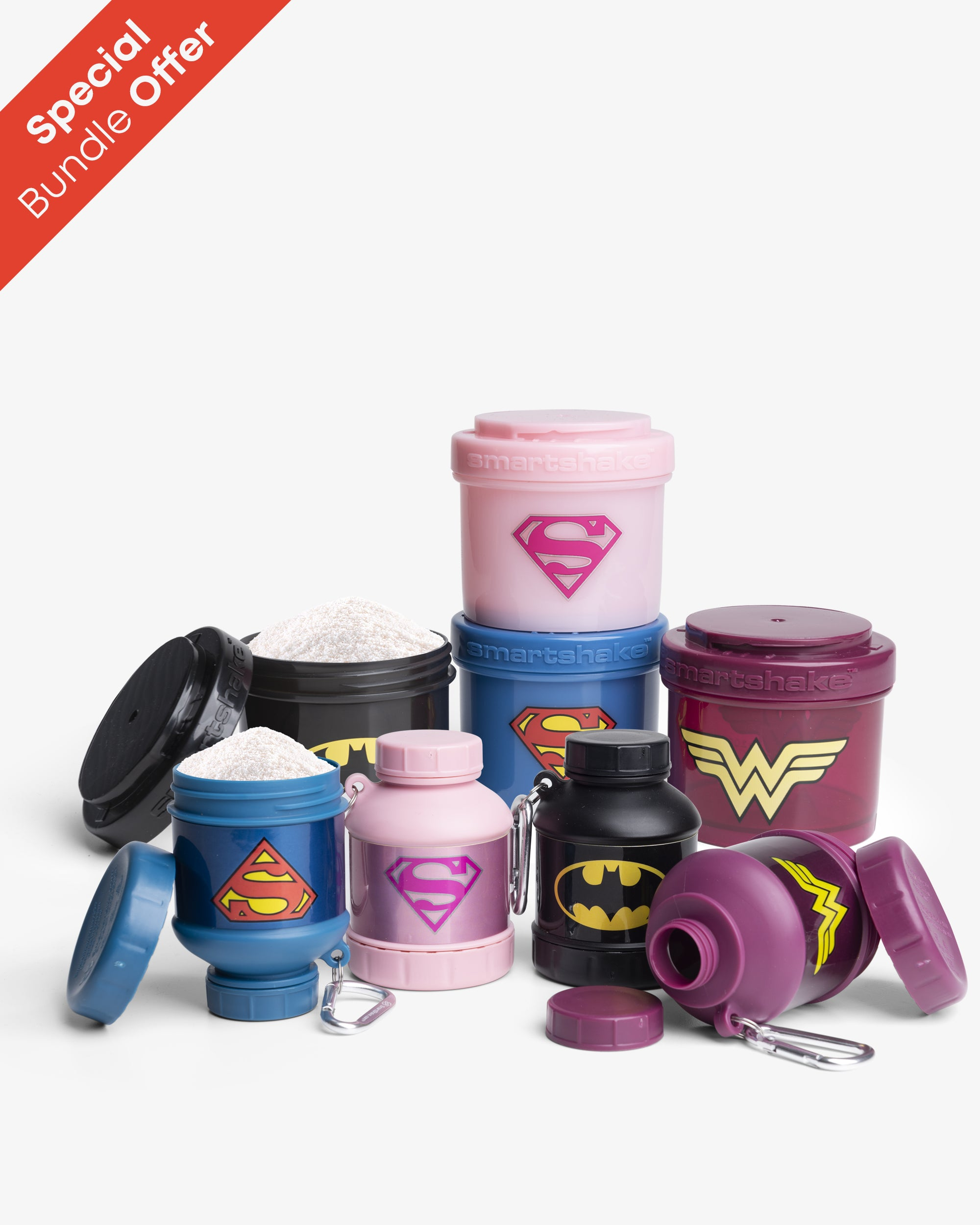 DC Accessories 4 pack bundle with 25% OFF