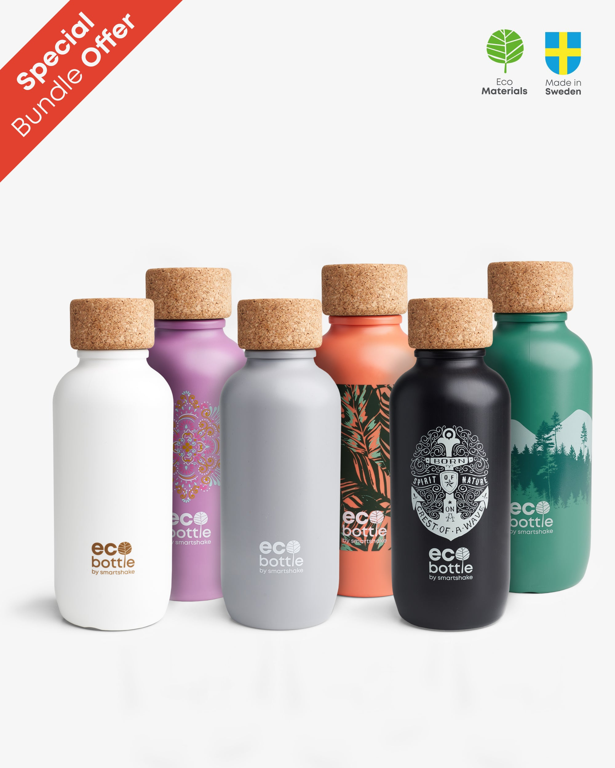 Choose 3 EcoBottle and get 25% OFF