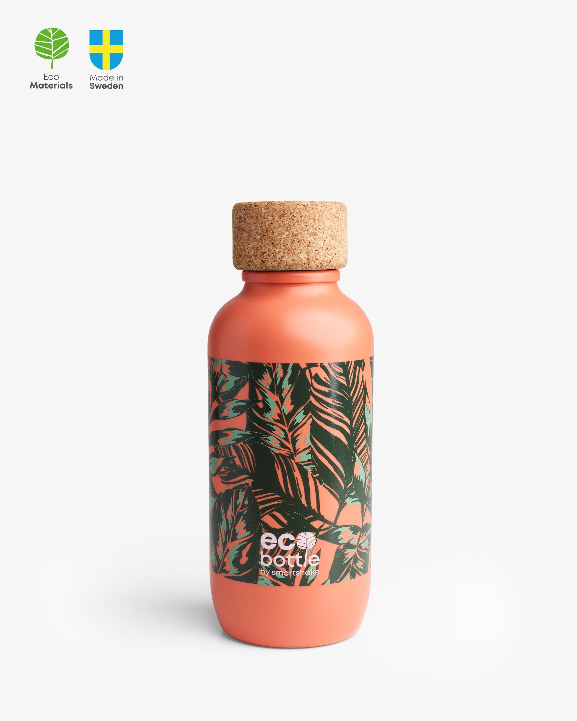 EcoBottle 650 Coral Leaves