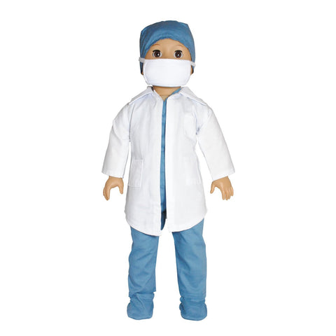 "Doll Clothes Fits American Girl 18"" Inch Outfit Doctor Nurse Dress"