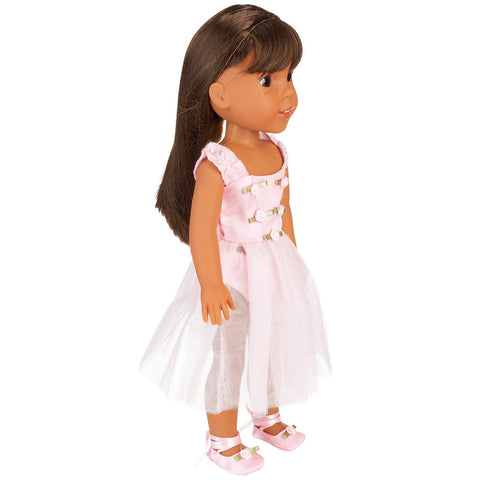 "Doll Clothes Fits American Girl 14"" Inch Outfit Ballerina Ballet Dress"