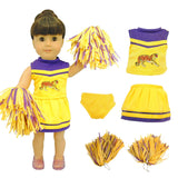 "Doll Clothes Fits American Girl 18"" Inch Outfit Cheerleader"