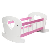 "Doll Crib Furniture Cradle For American Girl & Other 18"" Inch Dolls"