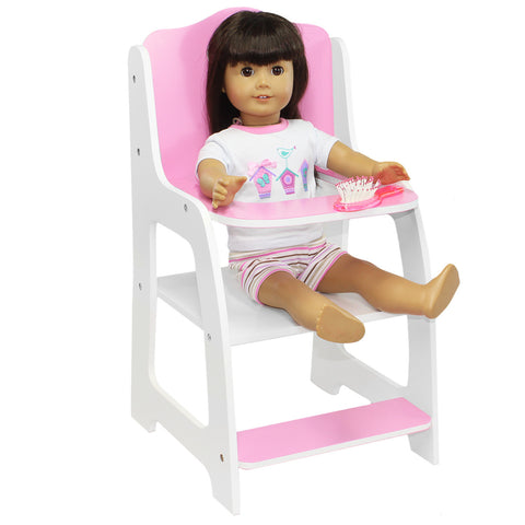 "Doll Chair Furniture Seat For American Girl & Other 18"" Inch Dolls"