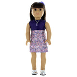 "Doll Clothes Fits American Girl & Other 18"" Inch Dolls  24 Pieces Outfit Set"