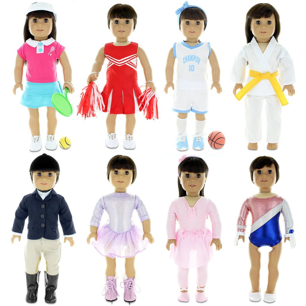 "Fits American Girl 18/"" Sports Outfit 18 Inch Doll Clothes Costume"
