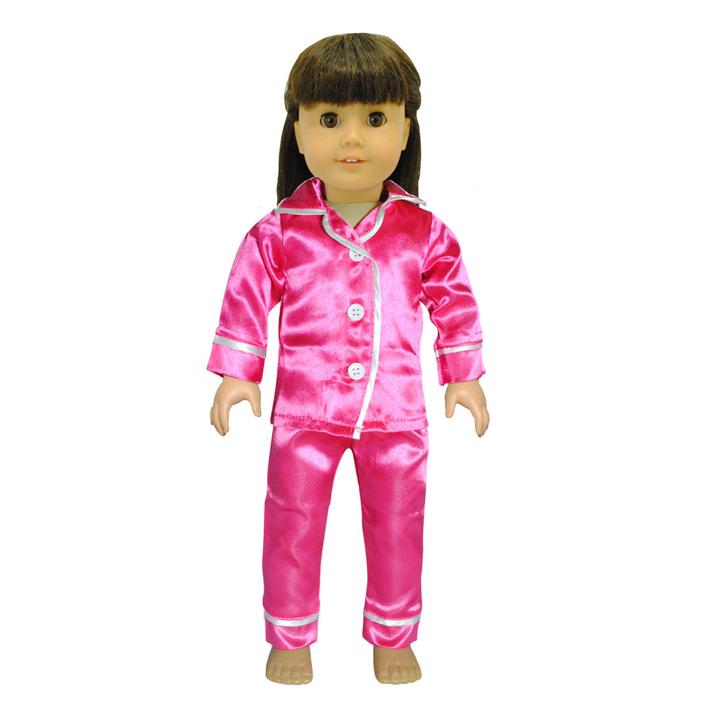 Doll Clothes Fits American Girl 18 Quot Inch Pink Pajama