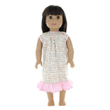 "Doll Clothes Fits American Girl 18"" Inch Matching Girl & Doll Pajama"