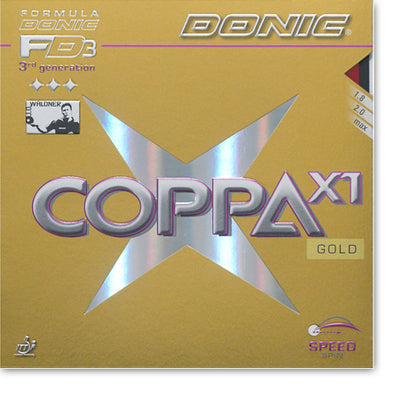DONIC Coppa X1 (Gold) Table Tennis Rubber