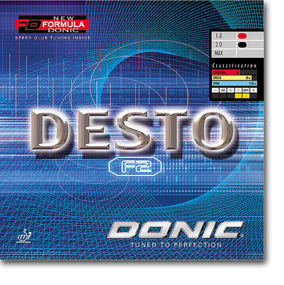 DONIC Desto F2 Table Tennis Rubber