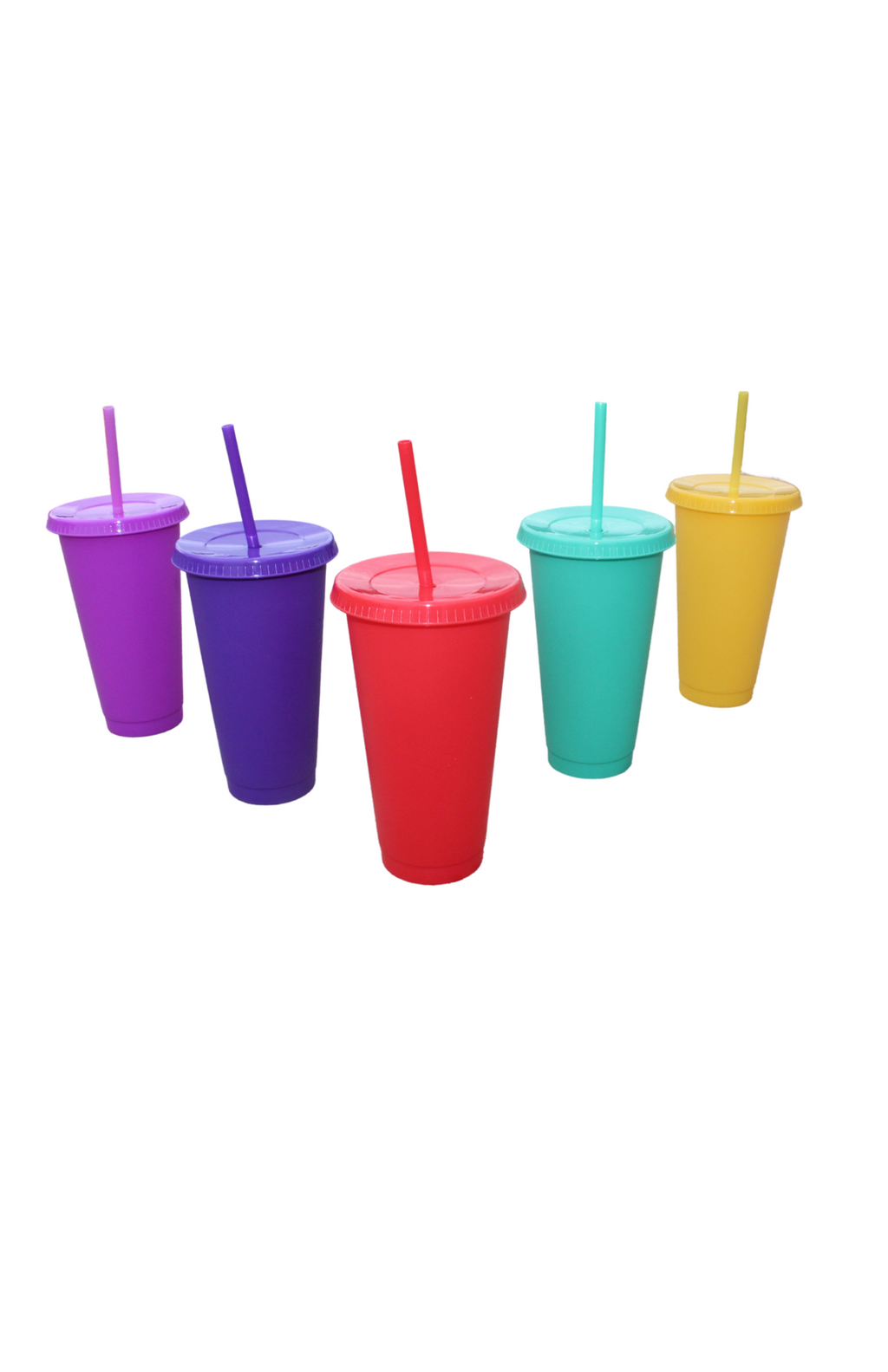 Multi-Color Cup Set