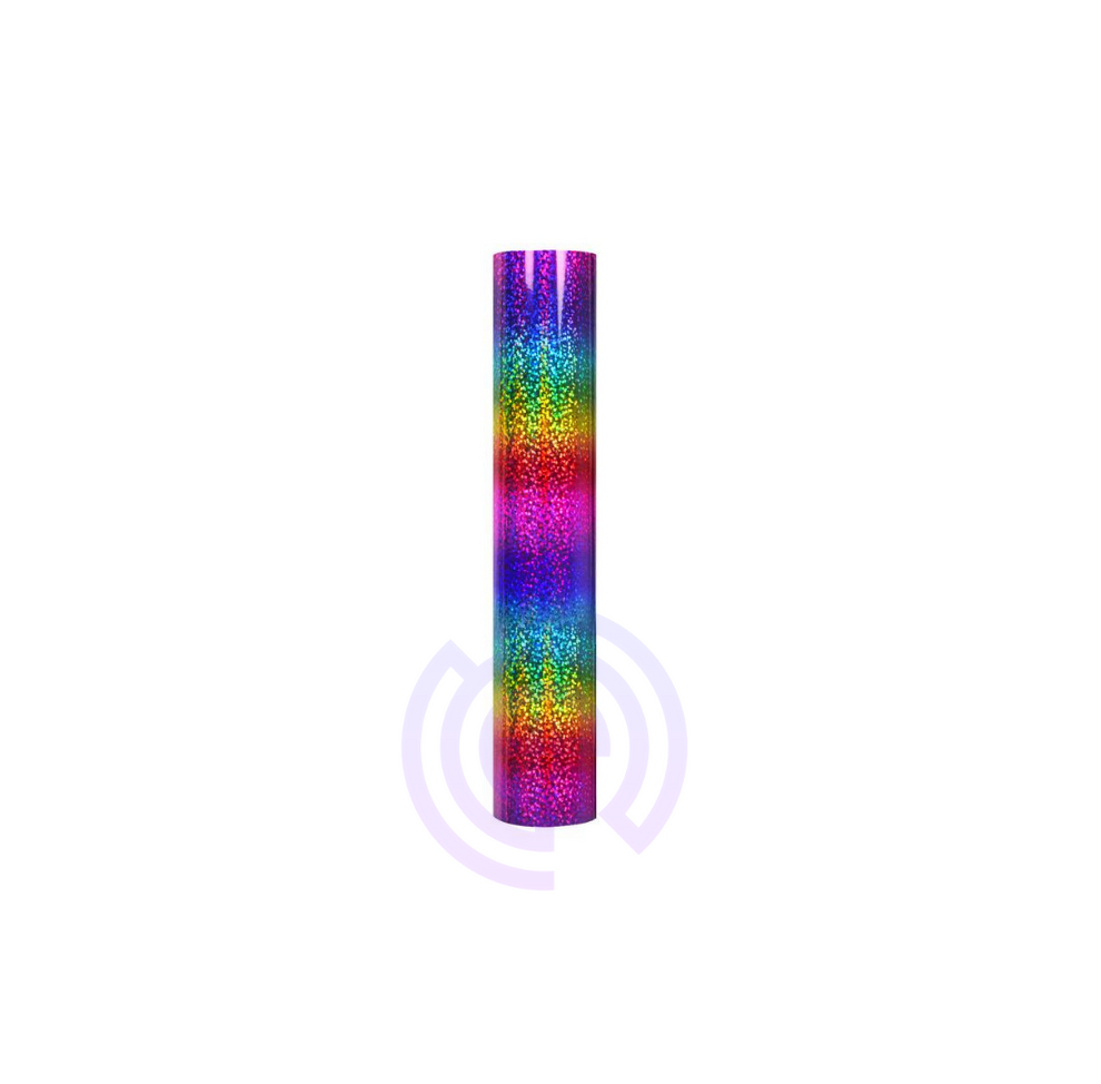 Holographic Sparkle Adhesive Vinyl Roll