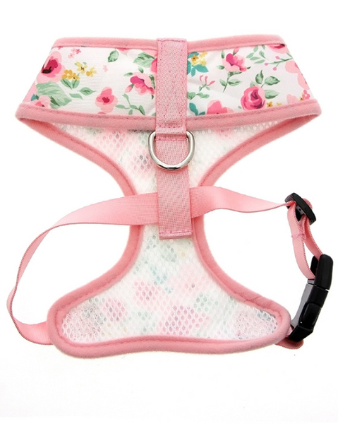 Floral Cascade Harness - Pink