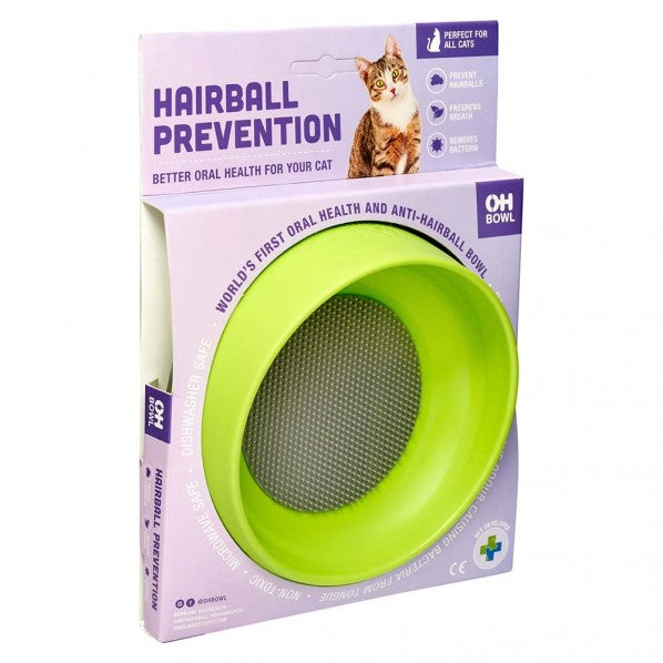 LickiMat Oh Bowl Hairball Prevention Cat Bowl