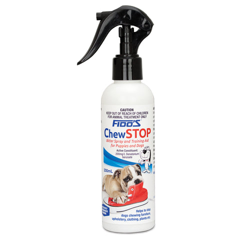 Fidos Chew Stop Bitter Spray For Puppy And Dogs