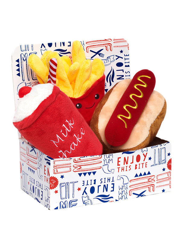 Hotdog Meal Deal Box 3 Toy Combo