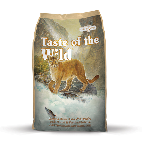 Taste of the Wild Canon River Feline Formula with Trout & Smoked Salmon Dry Cat Food