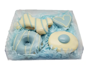 Huds and Toke Dog Treat Gift Box - Blue