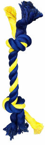 "PetSport Mini 2-Knot 8"" Rope Dog Toy"