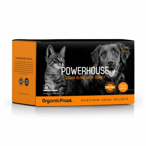 Organic Paws Powerhouse - Turkey
